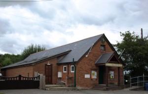 Godshill Village Hall outside